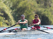 Taken during the World Masters Games - Rowing, Lake Karapiro, Cambridge, New Zealand; ©  Rob Bristow; Frame 3802 - Taken on: ...