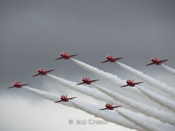 The Red Arrows 2017