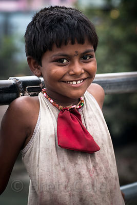 Dalit girl, Haridwar, India