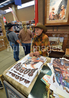 First full week of the Ft. Worth Stock Show and Rodeo, Ft. Worth, TX, USA.