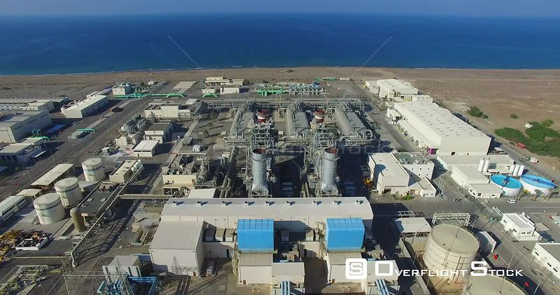 Desalination Unit and Power Plant Ar Rumays, Oman