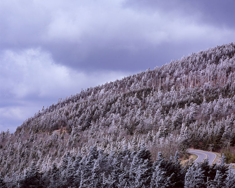 006-Blue_Ridge_D145194_Blue_Ridge_In_Early_Spring_-_Mount_Mitchell_in_Snow_with_Pkwy_001_Preview