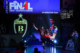 Vuko Borozan during the Final Tournament - Semi final match - Vardar vs Meshkov Brest - Final Four - SEHA - Gazprom league, S...