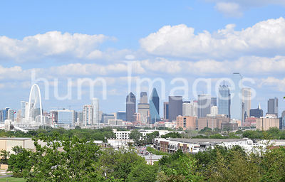 Dallas Stock Photos: Downtown Dallas Skyline .