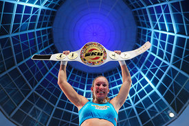 WKU Light Heavyweight World Championship, Christine Theiss vs. Cathy Le Mee, München 2013