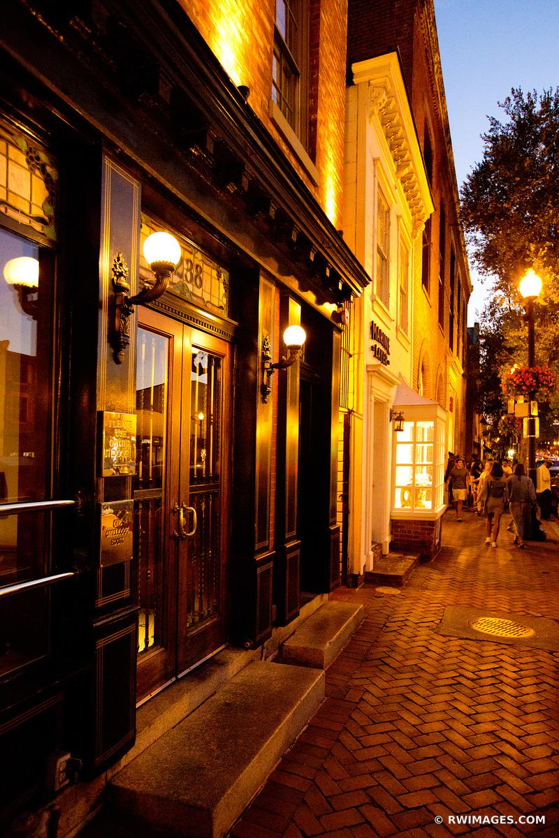 GEORGETOWN EVENING WASHINGTON DC COLOR
