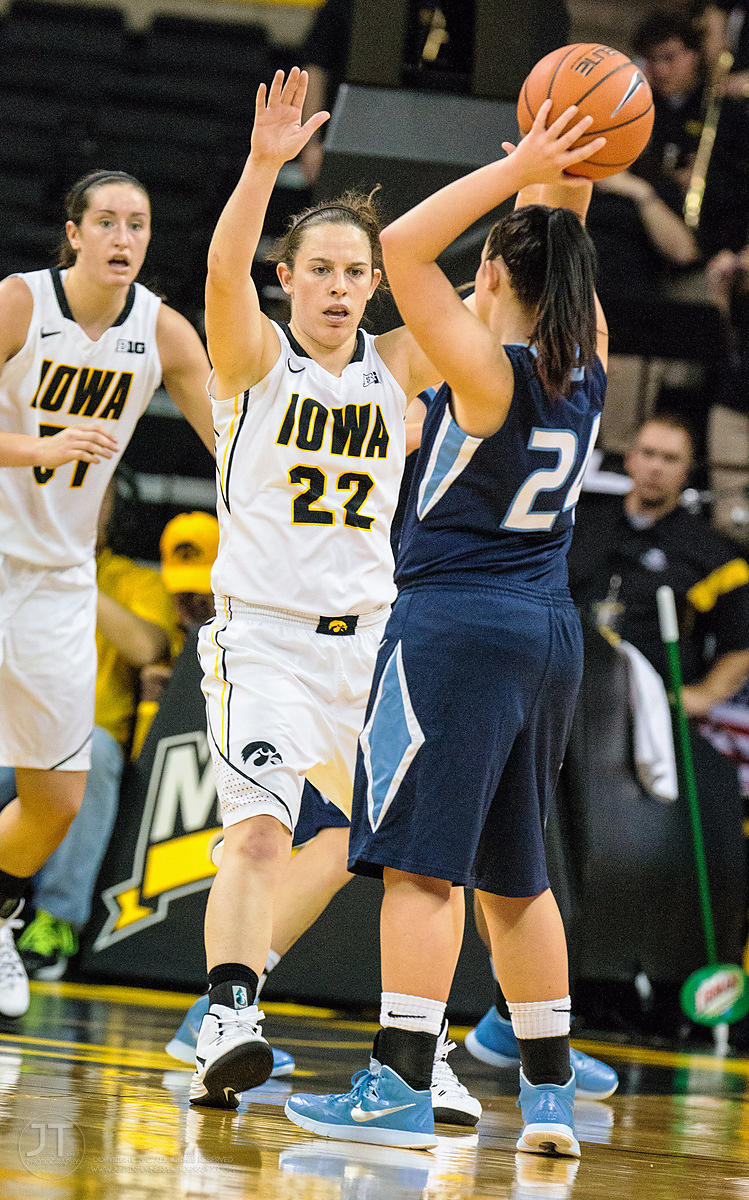 P-C - Iowa vs St Ambrose WBB, November 9, 2014