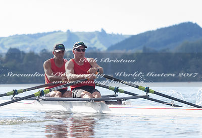 Taken during the World Masters Games - Rowing, Lake Karapiro, Cambridge, New Zealand; ©  Rob Bristow; Frame 493 - Taken on: T...