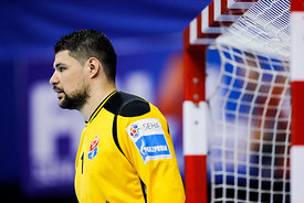 Ivan Pesic during the Final Tournament - Final Four - SEHA - Gazprom league, Bronze Medal Match Meshkov Brest - PPD Zagreb, B...