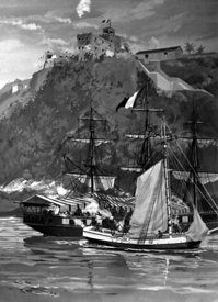 Capture of French privateer Sandwich during Quasi-War