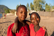 Girls, Cape Maclear, Malawi