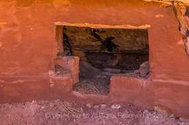 Collapsed Kiva at Moon House Ruin