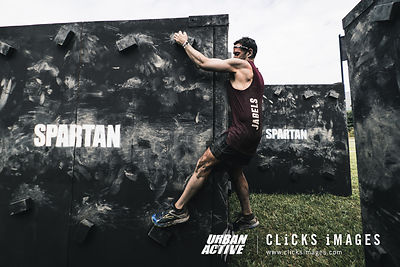 Spartans from Urban Active competes at the Spartan Race Hong Kong on November 4, 2017 at Kam Tin Country Club in Hong Kong