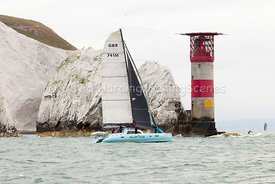Suenos, GBR741M, Dazcat 1195 catamaran, Round the Island Race 2017, 20170701042