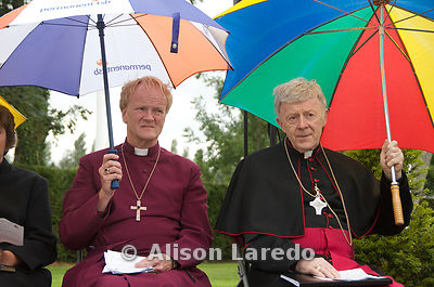 The Right Reverend Patrick William Rooke Bishop Of Tuam Killala And Achonry and Bishop Michael Neary, Archbishop of Tuam. Pho...
