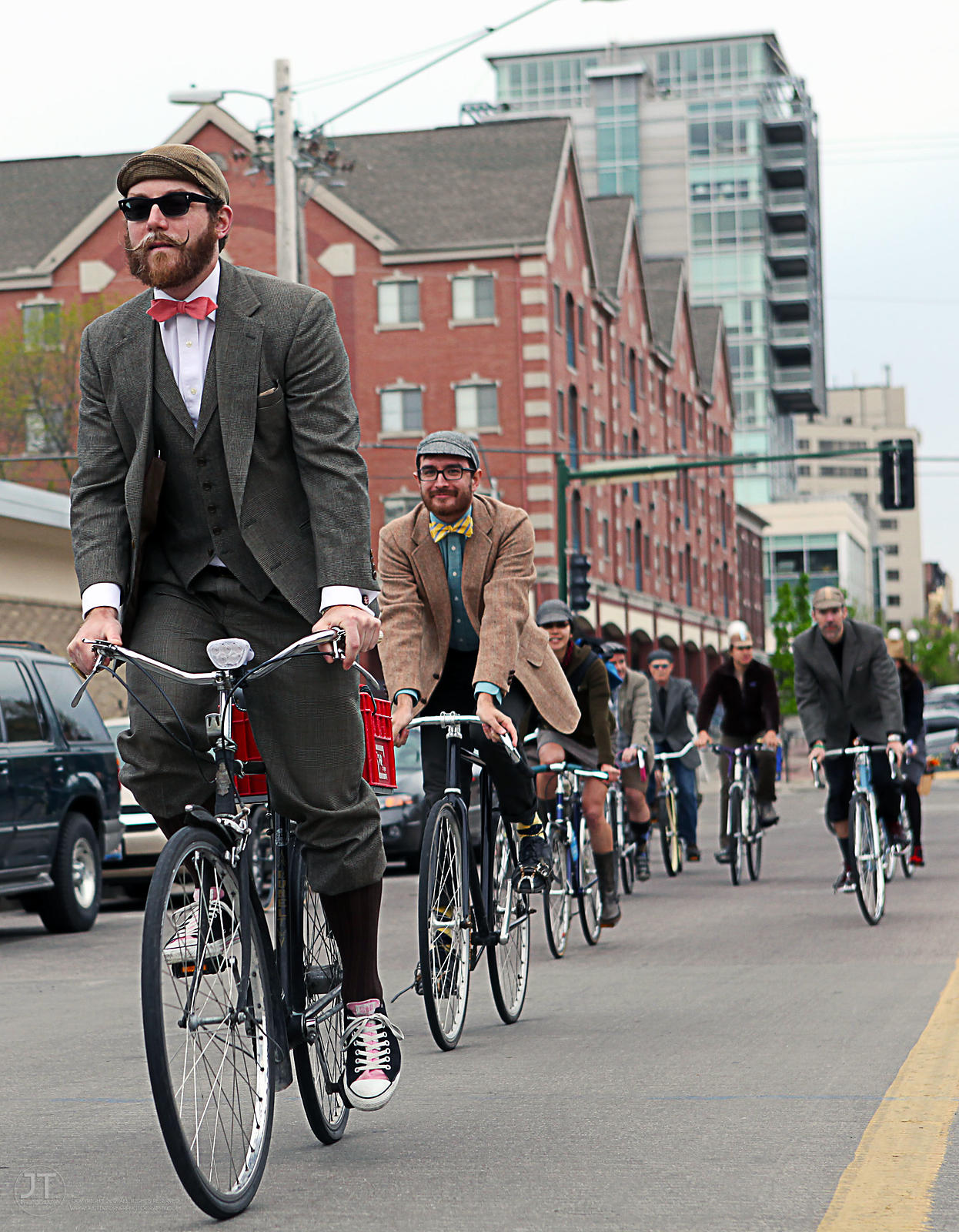 First Annual Iowa City Tweed Ride