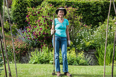 Liz Eaton, leading light of the non-profit Community Interest venture that runs the garden. Littlebredy Walled Gardens, Littl...