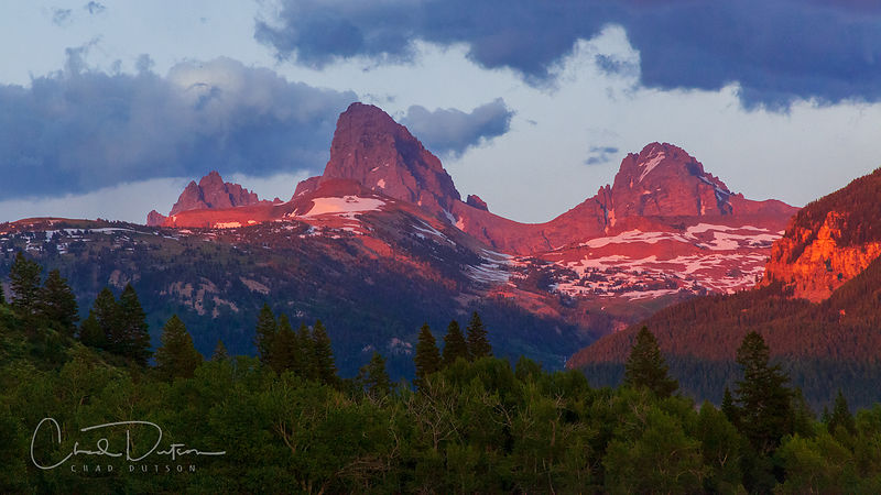 Reliving the Tetons