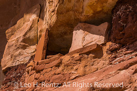 Stone Slabs in Ruins in Bears Ears National Monument