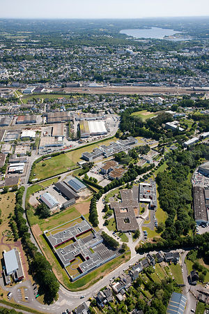 photo d'une zone industrielle ‡ quimper