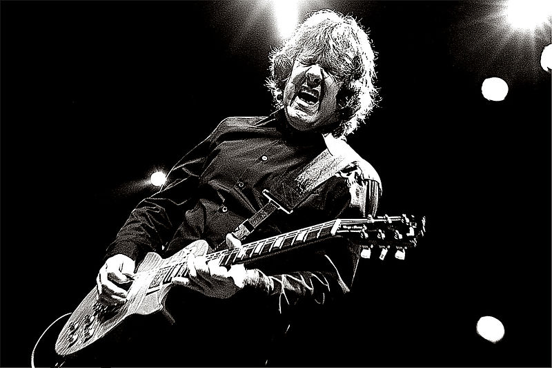Gary Moore performing live 2007
