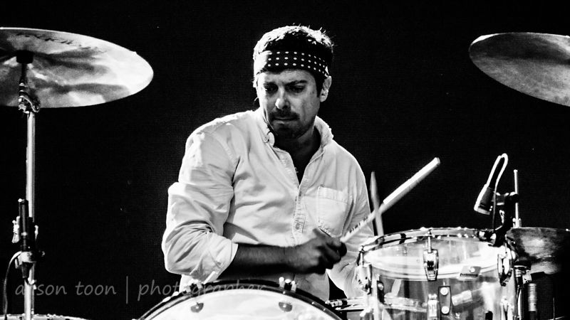 Charlie Hall, drums, The War on Drugs, TBD Fest, 2014