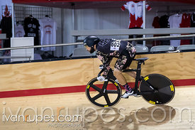 Master A Sprint Qualification.  2015 Canadian Track Championships, October 8, 2015