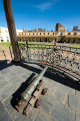Cannon on the Kat Balcony on Block B, Castle of Good Hope, Cape Town, South Africa