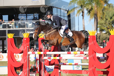 Roe Spencer (GBR) and WONDER WHY