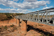 Bridge over the Betsiboka River, Madagascar