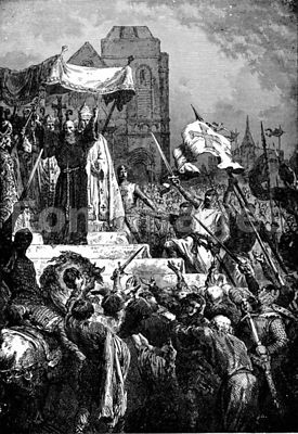 Catholic clergyman preaches for Crusades
