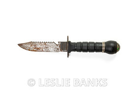 Vintage Fixed Blade Compass Knife