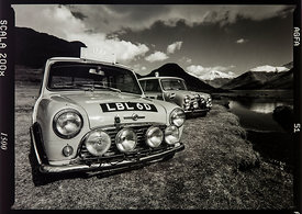 LBL 6D and 33 EJB The Monte Mini's 1998:   Photographer Neil Emmerson  £975 inc uk vat:   Edition of 25