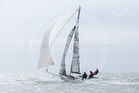 18ft Skiff European Grand Prix, Sandbanks, 20160904478