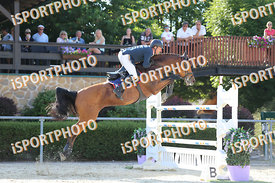SZÁSZ Sándor (HUN) and PIPPALOTTA during LAKE ARENA - The Equestrian Springbreak, CSI1*, Big Tour, 140 cm, 2017 June 11 - Wie...