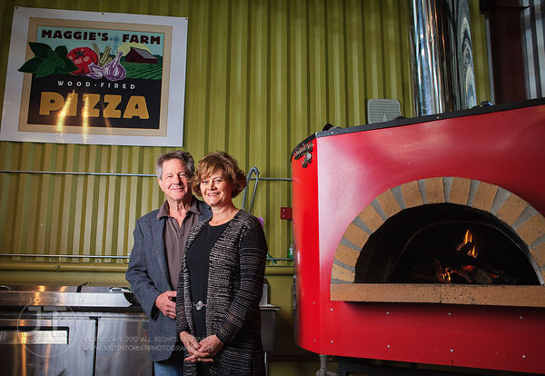 Jerry and Carolyn Zimmerman, Maggie's Wood Fired Pizza