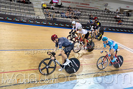 Master CD Keirin 1-6 Final. Ontario Track Championships, March 3, 2019