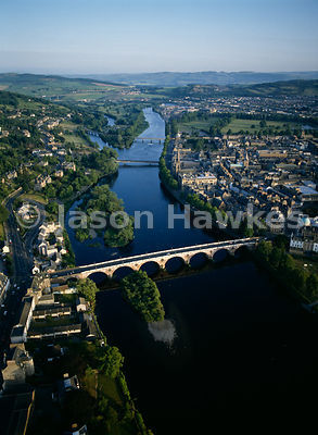 Perth, River Tay, Scotland