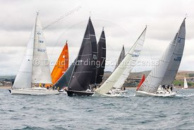 IRC 3 start, Weymouth Regatta 2018, 201809081097.
