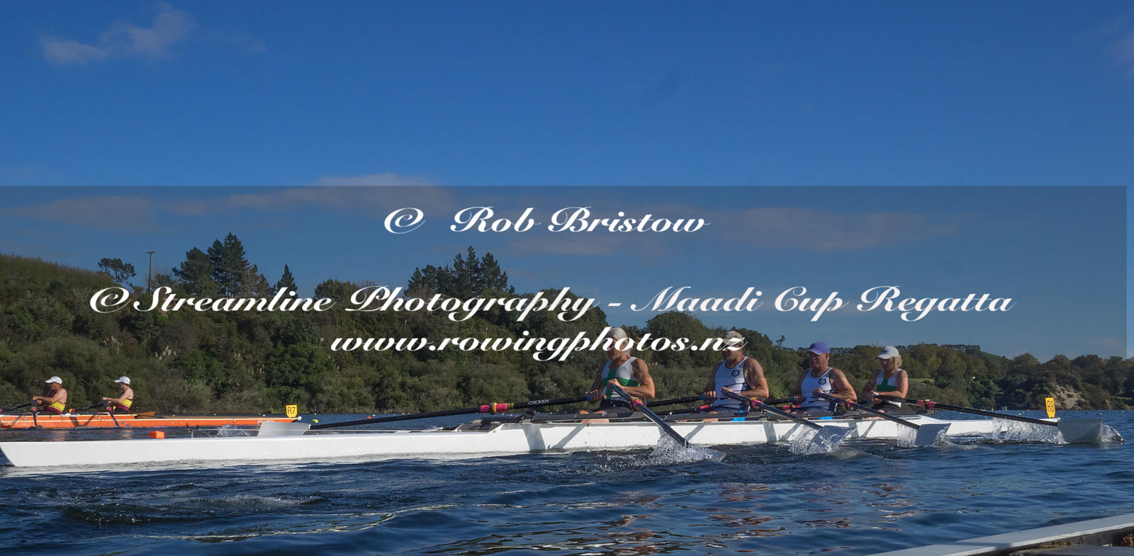 Taken during the World Masters Games - Rowing, Lake Karapiro, Cambridge, New Zealand; ©  Rob Bristow; Frame 1351 - Taken on: ...