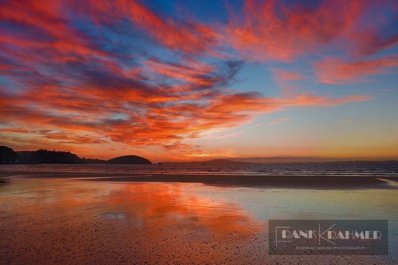Cloud impression at ocean - Oceania, New Zealand, North Island, Northland, Far North, Karikari Peninsula, Tokerau Beach (Poly...