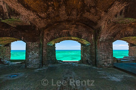 View of Sea from Fort Jefferson in Dry Tortugas National Park
