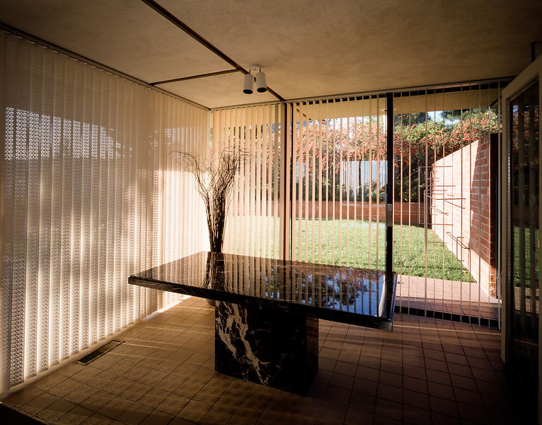 The Case Study house no.16, built in 1953, is the first of three houses designed under the  auspices of the Arts and Architec...