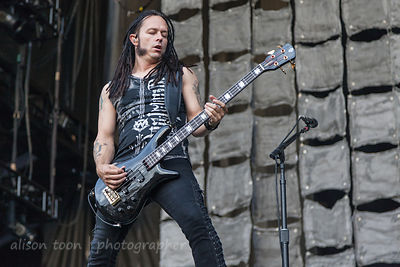 John Moyer, bass, Disturbed