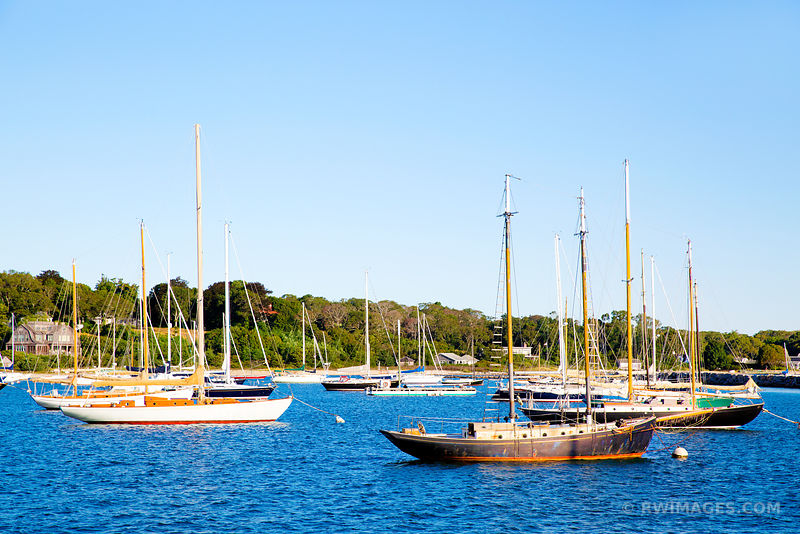 SAILBOATS VINEYARD HAVEN MARTHA'S VINEYARD