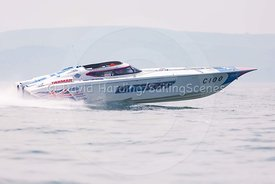 Blastoff, C-100, Fortitudo Poole Bay 100 Offshore Powerboat Race, June 2018, 20180610336