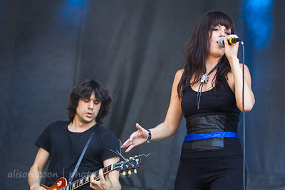 Delila Paz and Edgey Pires, The Last Internationale, Aftershock 2014