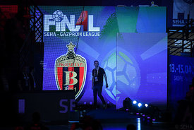 Raul Gonzales during the Final Tournament - Semi final match - Vardar vs Meshkov Brest - Final Four - SEHA - Gazprom league, ...