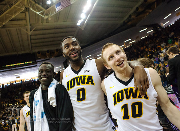 P-C - Men's Basketball, Iowa vs Northwestern, March 7, 2015