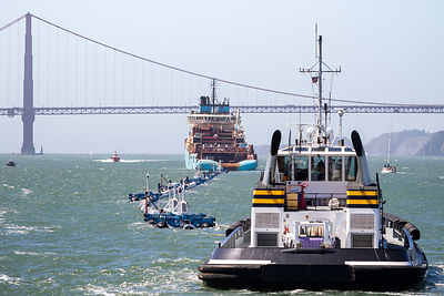 THE WORLD'S FIRST OCEAN CLEANUP SYSTEM LAUNCHED FROM SAN FRANCISCO